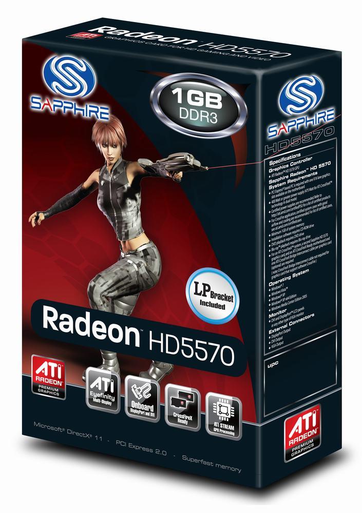 Amazon. Com: sapphire radeon hd 5570 1 gb ddr3 hdmi/dvi-i/vga pci.