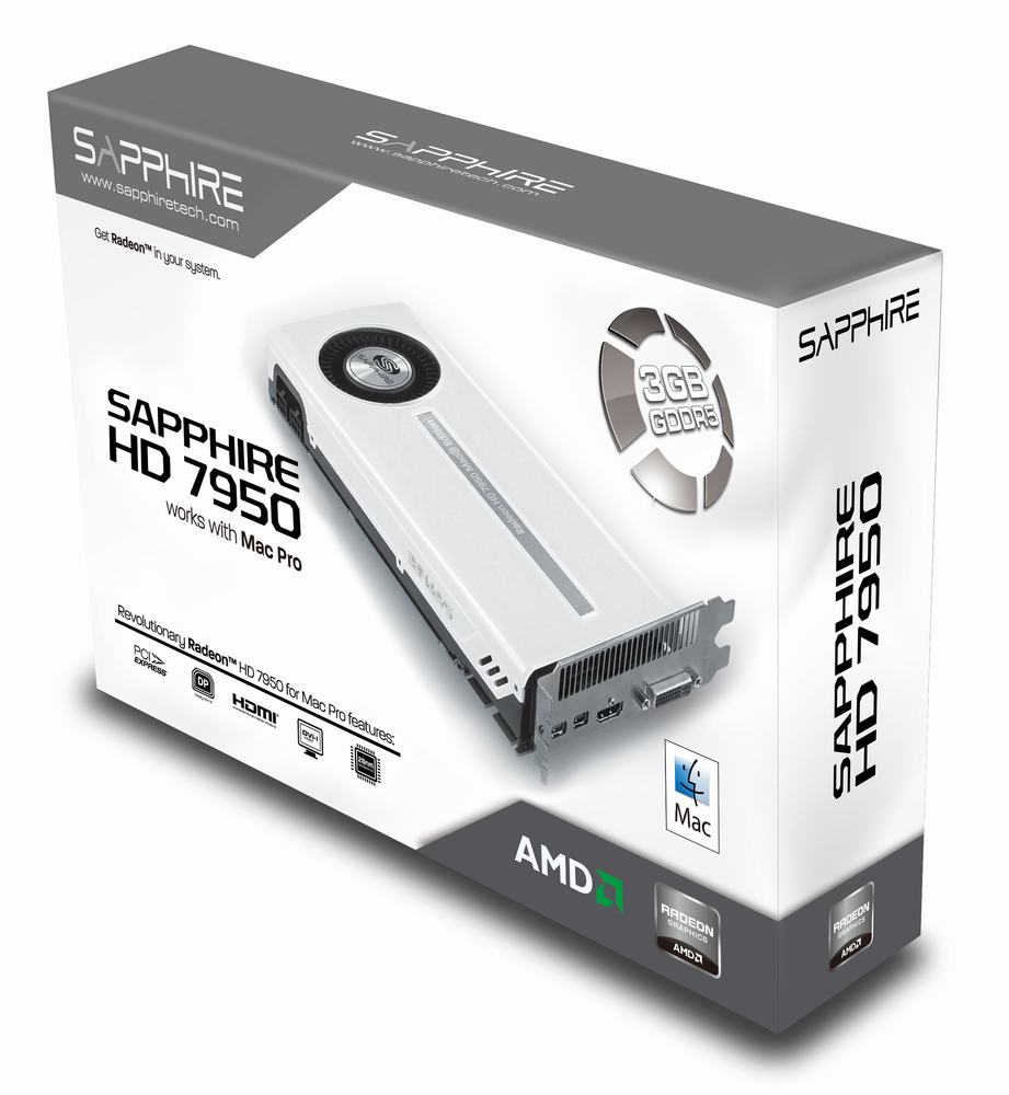 Sapphire hd 7950 for apple mac pro tower.