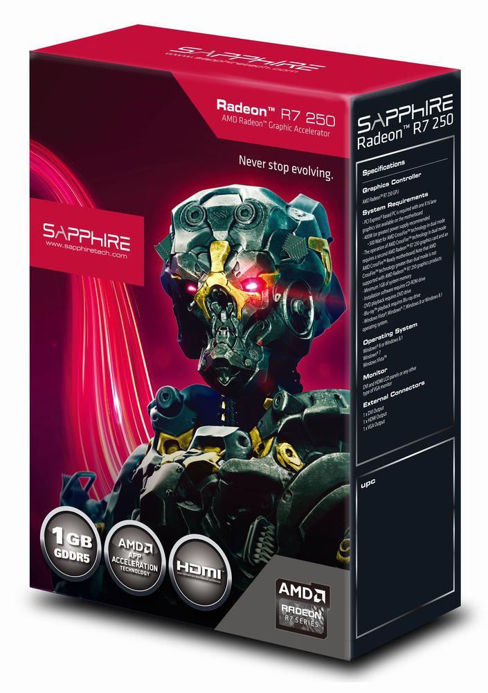 скачать драйвер Sapphire Radeon R7 250 - фото 4