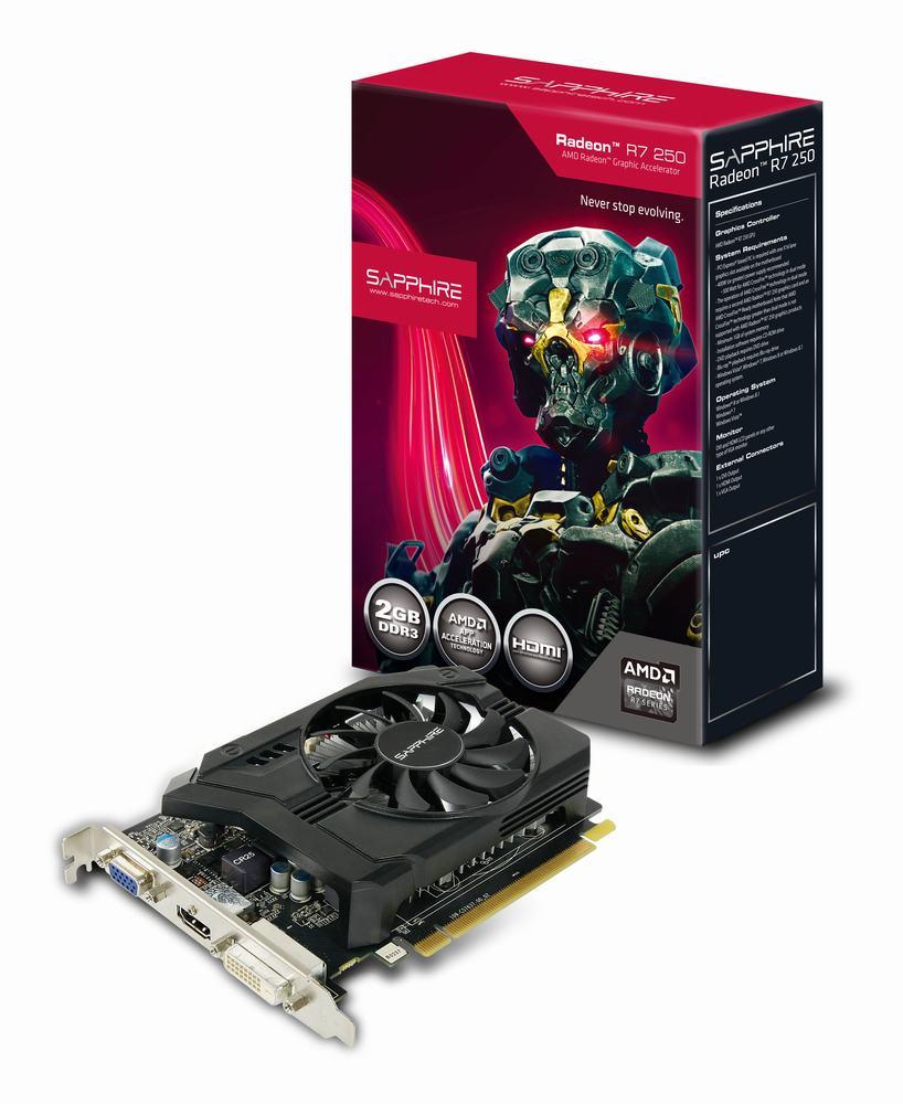 скачать драйвер Sapphire Radeon R7 250 - фото 3