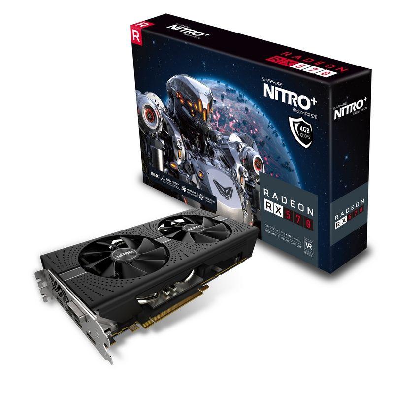 SAPPHIRE NITRO+ Radeon™ RX 570 4GD5